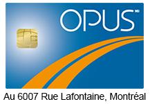 Rechargement de Carte Opus
